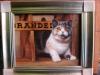 Сторожевой кот в живописи и жизни